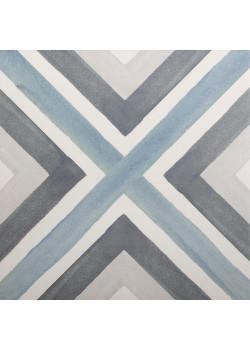 Керамогранит Decocer Aquarel Blue 20x20