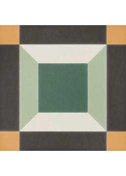 Керамогранит DNA Sync Cube Green 15x15