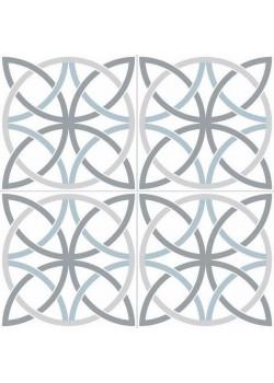 Плитка Dual Gres Chic Bosham White 45x45