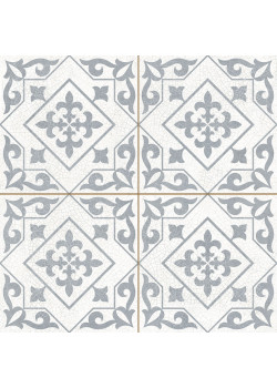 Плитка Dvomo Timeless Temple Silver 45x45