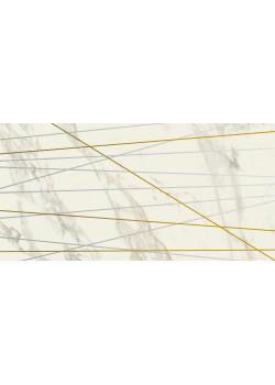 Плитка Italon Charme Deluxe Inserto Golden Line Arabescato 40x80