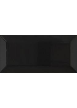 Плитка Tau Biselado Classic Black 7.5x15 BR (глянец)