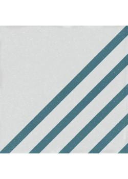 Керамогранит Wow Boreal Dash Decor White Blue 18.5x18.5
