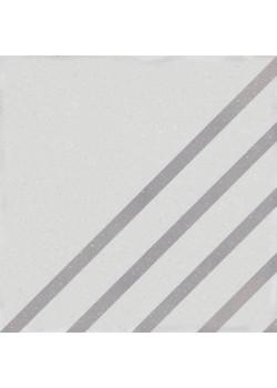 Керамогранит Wow Boreal Dash Decor White Lunar 18.5x18.5