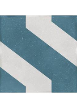 Керамогранит Wow Boreal Link Decor Blue 18.5x18.5