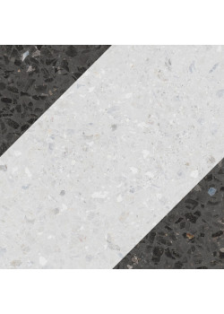 Керамогранит Wow NaturalDrops Bit Decor Graphite 18.5x18.5