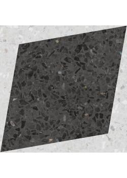 Керамогранит Wow NaturalDrops Rhombus Decor Graphite 18.5x18.5