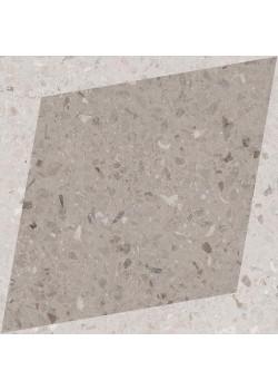 Керамогранит Wow NaturalDrops Rhombus Decor Taupe 18.5x18.5