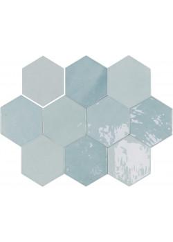 Плитка Wow Zellige Hexa Aqua 10.8x12.4