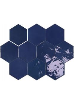Плитка Wow Zellige Hexa Cobalt 10.8x12.4