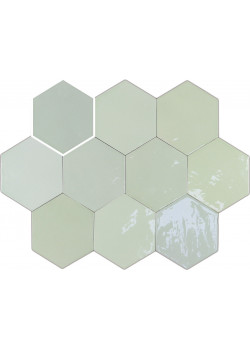 Плитка Wow Zellige Hexa Mint 10.8x12.4
