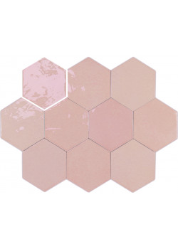 Плитка Wow Zellige Hexa Pink 10.8x12.4