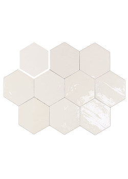 Плитка Wow Zellige Hexa White 10.8x12.4