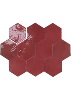 Плитка Wow Zellige Hexa Wine 10.8x12.4